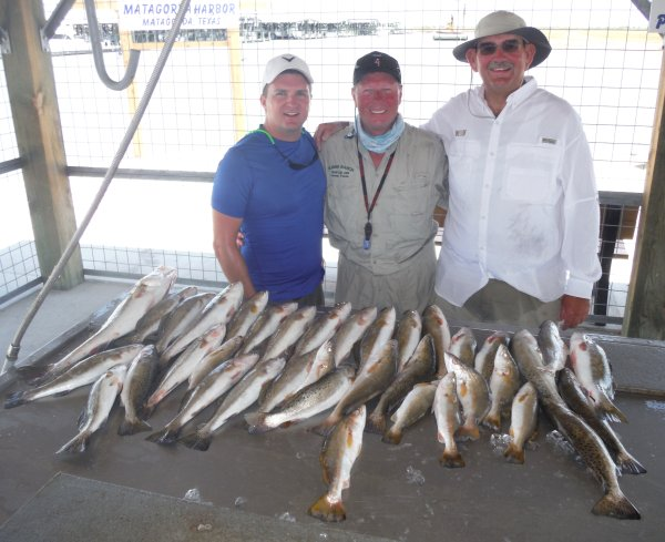 July 15 another great week of drifting over deep for Matagorda fishing report surf